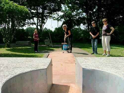 Minigolf-Familiensportfest