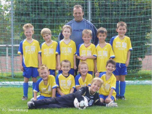 2. F.–Junioren vom FC Stern Misburg