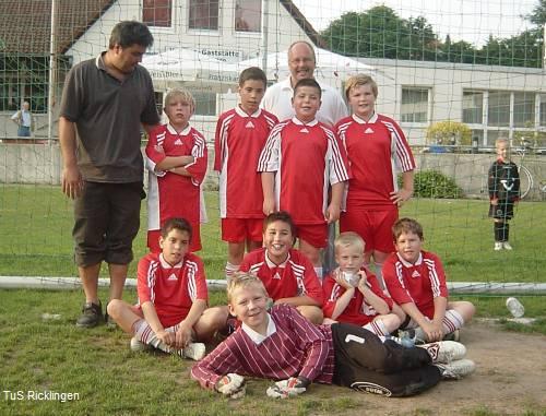 3. D-Junioren des TuS Ricklingen