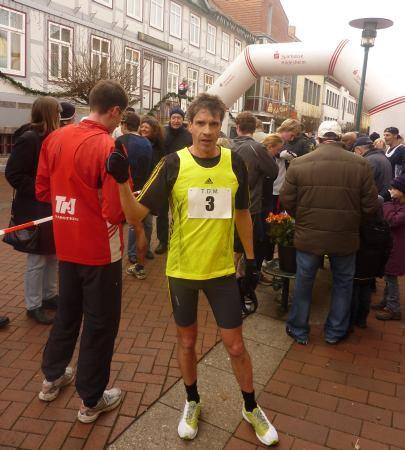 Glücklich im Zielbereich: Europameister Thomas Ruminski