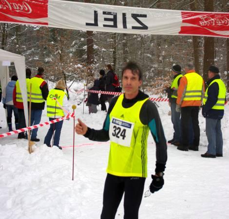 Europameister Thomas Ruminski mit großem Vorsprung im Ziel