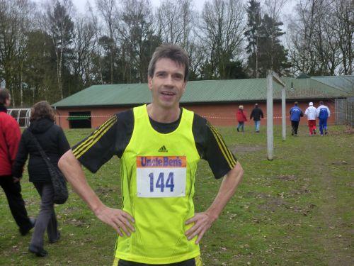 Europameister Thomas Ruminski nach seinem Sieg in Cluvenhagen