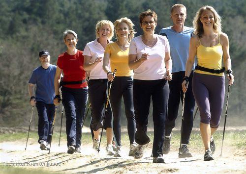 TK: Nordic-Walking für Jedermann