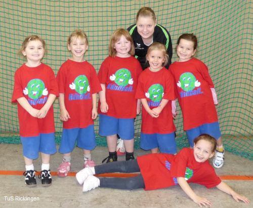 Handball-Minis des TuS Ricklingen