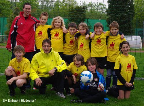 E-Jugend des SV Eintracht Hiddestorf