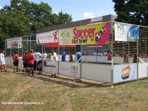 Bürgerverein veranstaltet 2. Kleefelder Soccer-Court-Turnier