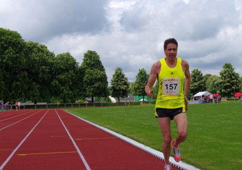 Europameister Thomas Ruminski mit riesigem Vorsprung vor dem weiteren Feld