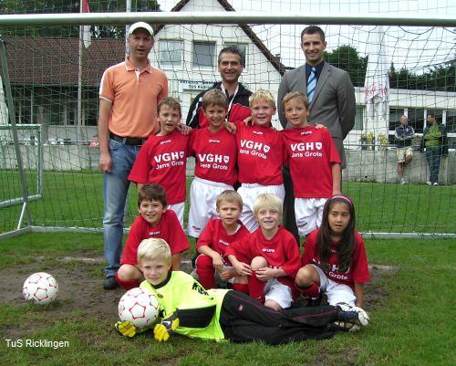 1. F-Junioren des TuS Ricklingen
