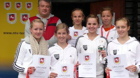 Juniorinnen B der TuS Wettbergen (Jahrgang 98 bis 95)