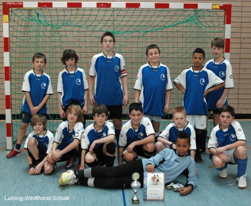 Die Mannschaft der Ludwig-Windthorst-Schule
