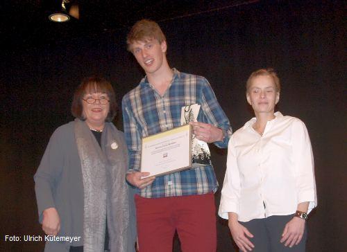 Anne Stache, Leon Strüber und Katja Hackmann (Foto: Ulrich Kütemeyer)