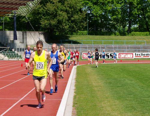 Thomas Ruminski läuft von der Spitze