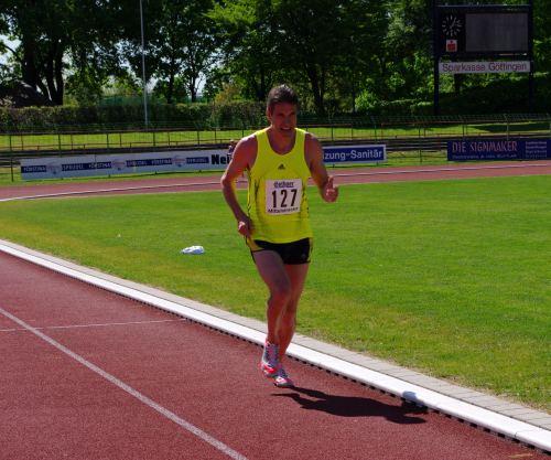 Thomas Ruminski bei den Landesmeisterschaften in Göttingen