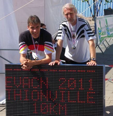 Thomas Ruminski und Jürgen Hesselmann