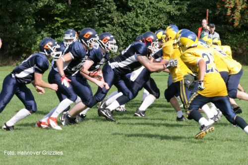 Hannover Grizzlies (1897 Linden) vs. Hildesheim Young Invaders