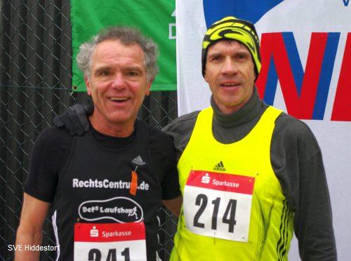 Wolfgang Lutz mit Europameister Thomas Ruminski bei der Landesmeisterschaft in Lingen 2012