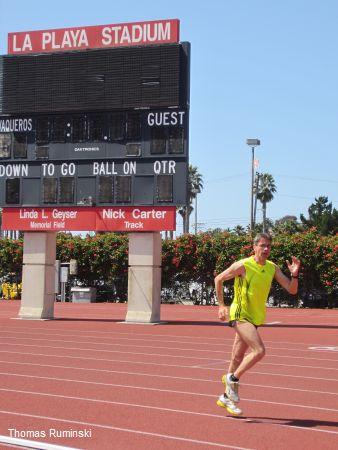 Thomas Ruminski auf den Spuren von Usain Bolt