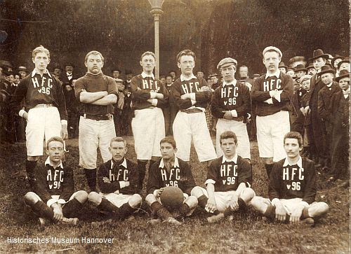 Foto der 1. Mannschaft des H.F.C. von 1896 (Foto: Historisches Museum Hannover)