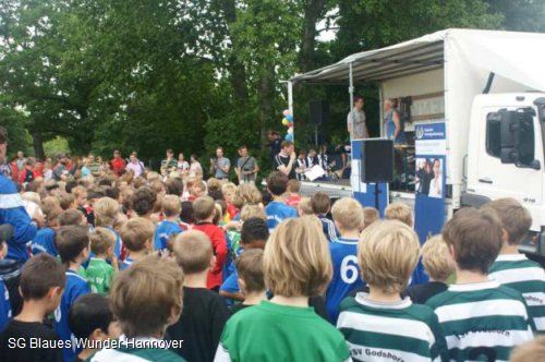 Riesen-Andrang beim 1. Wunder-Cup 2012