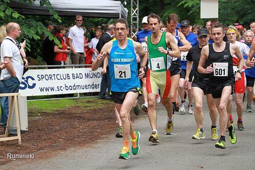 Thomas Ruminski, Nr. 21, beim Söltjerlauf 2013
