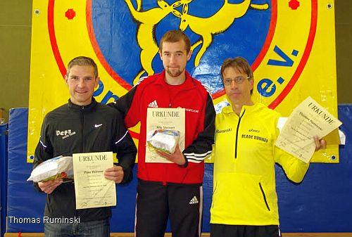 Die Sieger Peer Röhner, Nils Steinert, Thomas Ruminski