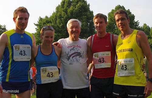 Jonas Krüger, Rebekka Eßmüller, Erich Vellage, Stefan Leunig und Thomas Ruminski