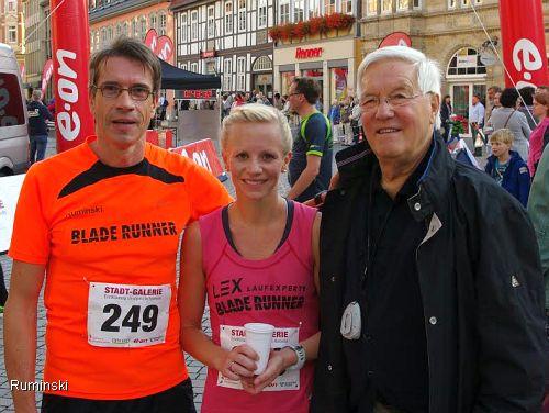Thomas Ruminski, Ulrike Wendt und Erich Vellage (v.l.)