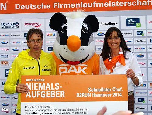 Schnellster Chef 2014 Deutsche Firmenlaufmeisterschaft