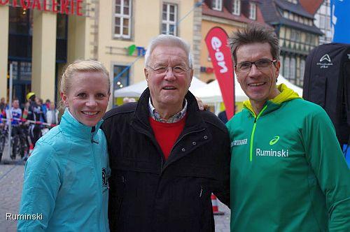 Ulricke Wendt, Erich Vellage und Thomas Ruminski (v.l.)