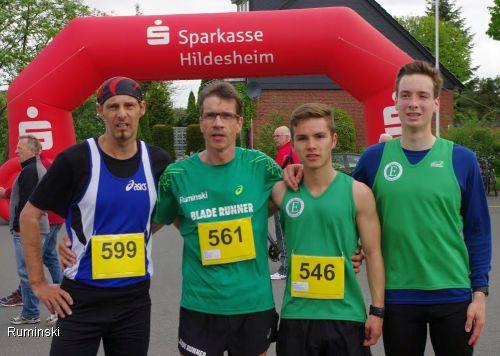 Frank Weigerber, Thomas Ruminski, Niklas Bukenberger, Oliver Kardos (von links)