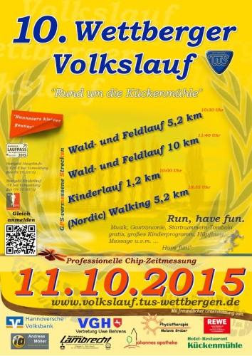 10. Wettberger Volkslauf 2015