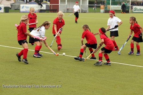 Kinderhockeyturnier 2014 (Foto: DHC Hannover)