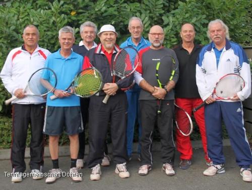Herren 60 der TG Döhren sind Niedersachsenmeister 2015