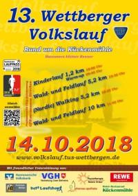 13. Wettberger Volkslauf 2018
